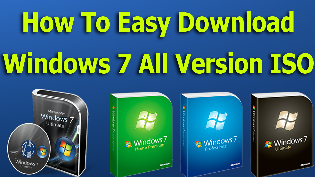 microsoft windows 7 iso download