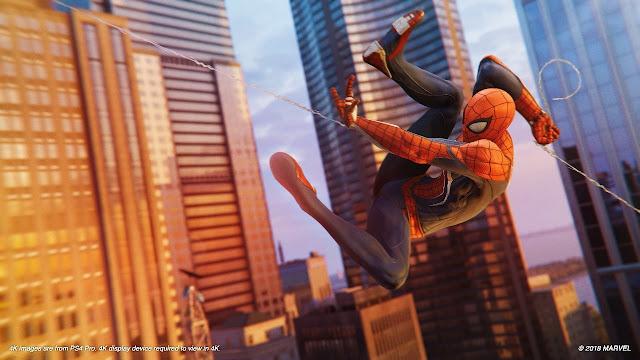 لعبة Spider-Man تستعرض عالمها و مهماتها الرئيسية في عرض مدته 18 دقيقة ، لنشاهد بالفيديو ..