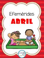Efemérides del mes de Abril para primaria y preescolar en pdf