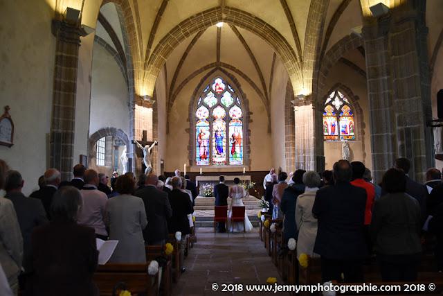 photo mariage, reportage cérémonie religieuse, église les herbiers