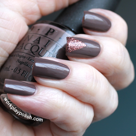 OPI You Don't Know Jacques and Butter London Rosie Lee