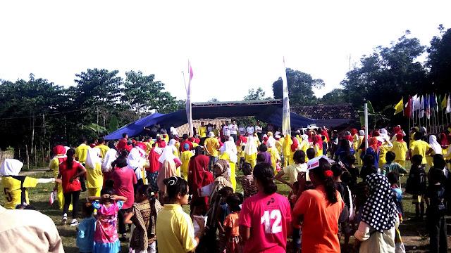 Waraga Rambang Senuling Ramai Kunjungi Kampanye Ridho- Fikri