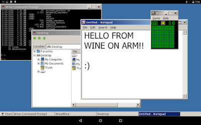 تشغيل برمجيات ويندوز على جهازك الأندرويد، تشغيل برامج ويندوز على جهازك الأندرويد،