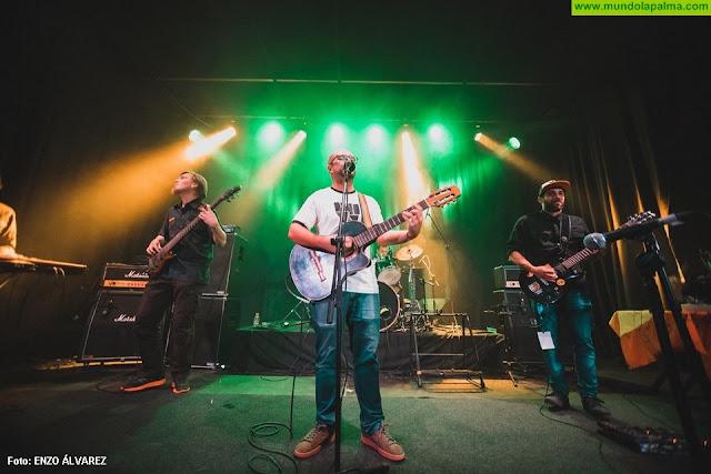 Abel Cordovéz & Benahoare Reggae Band representarán a La Palma en el festival del  talento canario