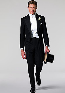 Image result for white tie and tails