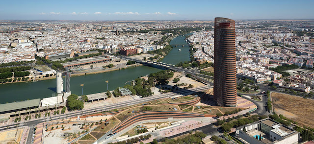 Torre Sevilla   César Pelli   Descripción + Fotos + Planos