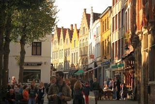 Sint Amandstraat in Bruges