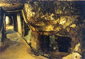 Galeriile zise romane Roșia Romana, în Munții Apuseni