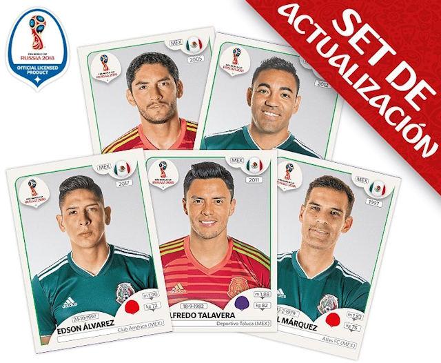 d00bcfc83 Panini - FIFA World Cup Russia 2018 Sticker Collection (56) - Updates -  Mexico