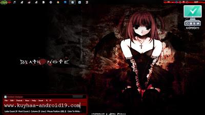 DEATH NOTE TEMA WINDOWS 7
