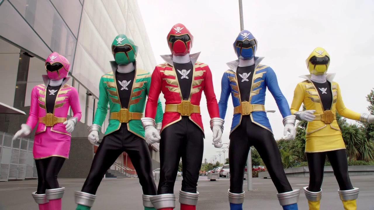 Hình ảnh Power Rangers Megaforce