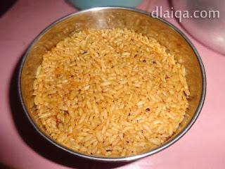 lapis kedua: nasi
