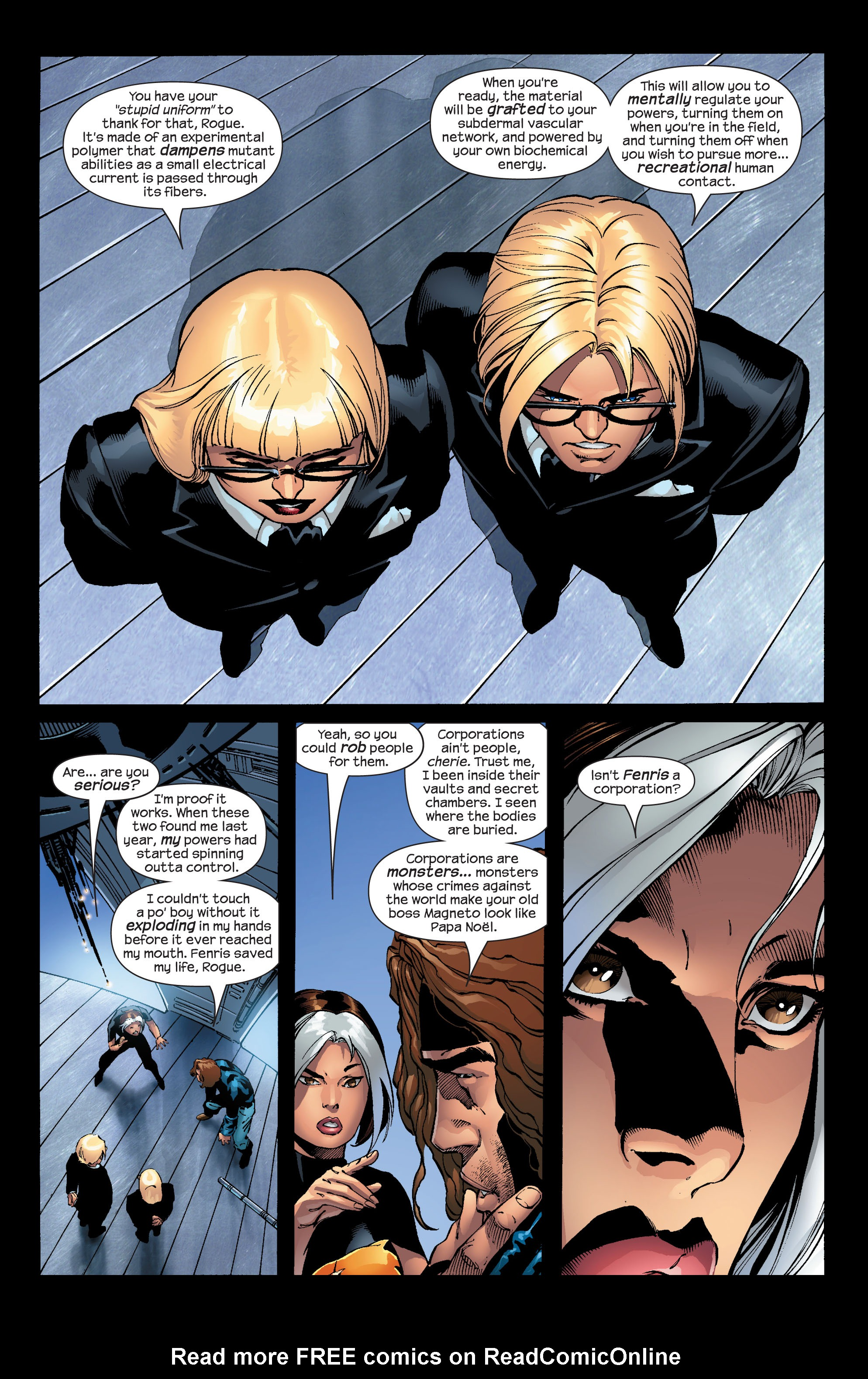 Read online Ultimate X-Men comic -  Issue #52 - 11