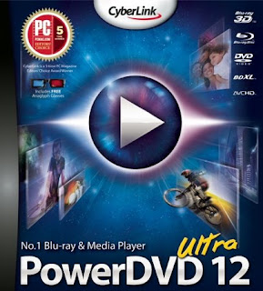 CyberLink PowerDVD 12 Ultra Activation Key + Crack