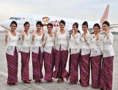 foto pramugari batik air