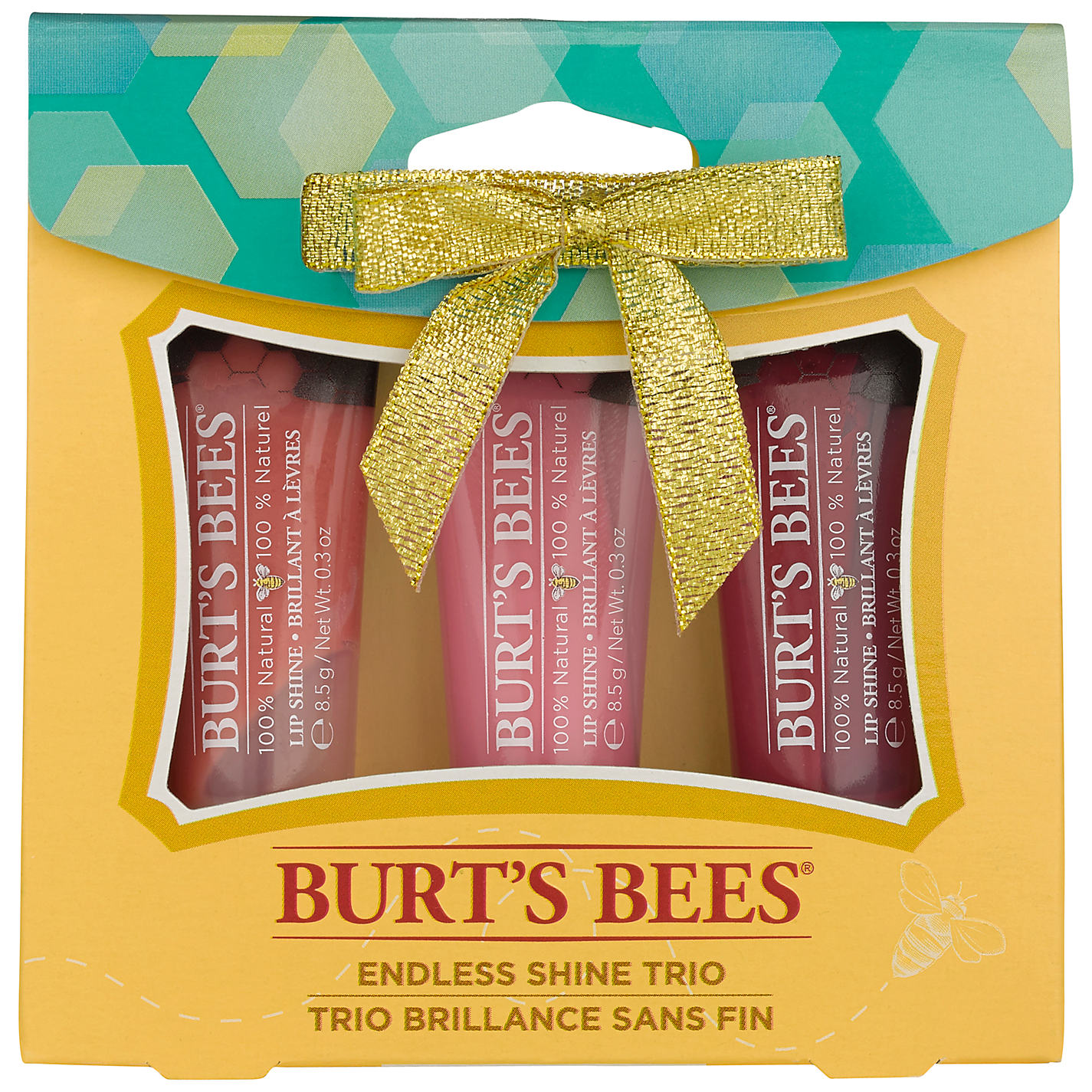 Give the gift of glossy lips with Burt's Bees, Sephora and Stila!