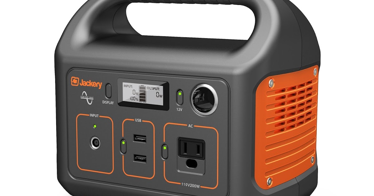 Quot Review Quot Jackery Portable Power Station Explorer 240