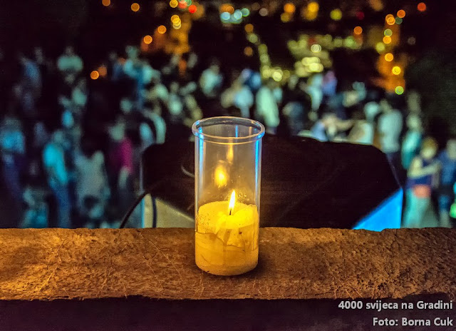 4000 svijeća na Gradini @ Rijeka, Trsatski kaštel 24.07.2018
