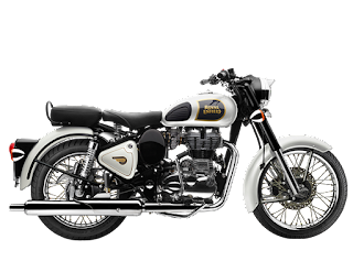 Royal Enfield Classic 350 Ash White Color 2018 Image