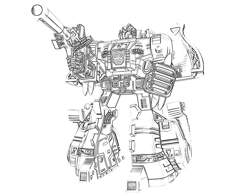 transformers cybertron coloring pages - photo#37