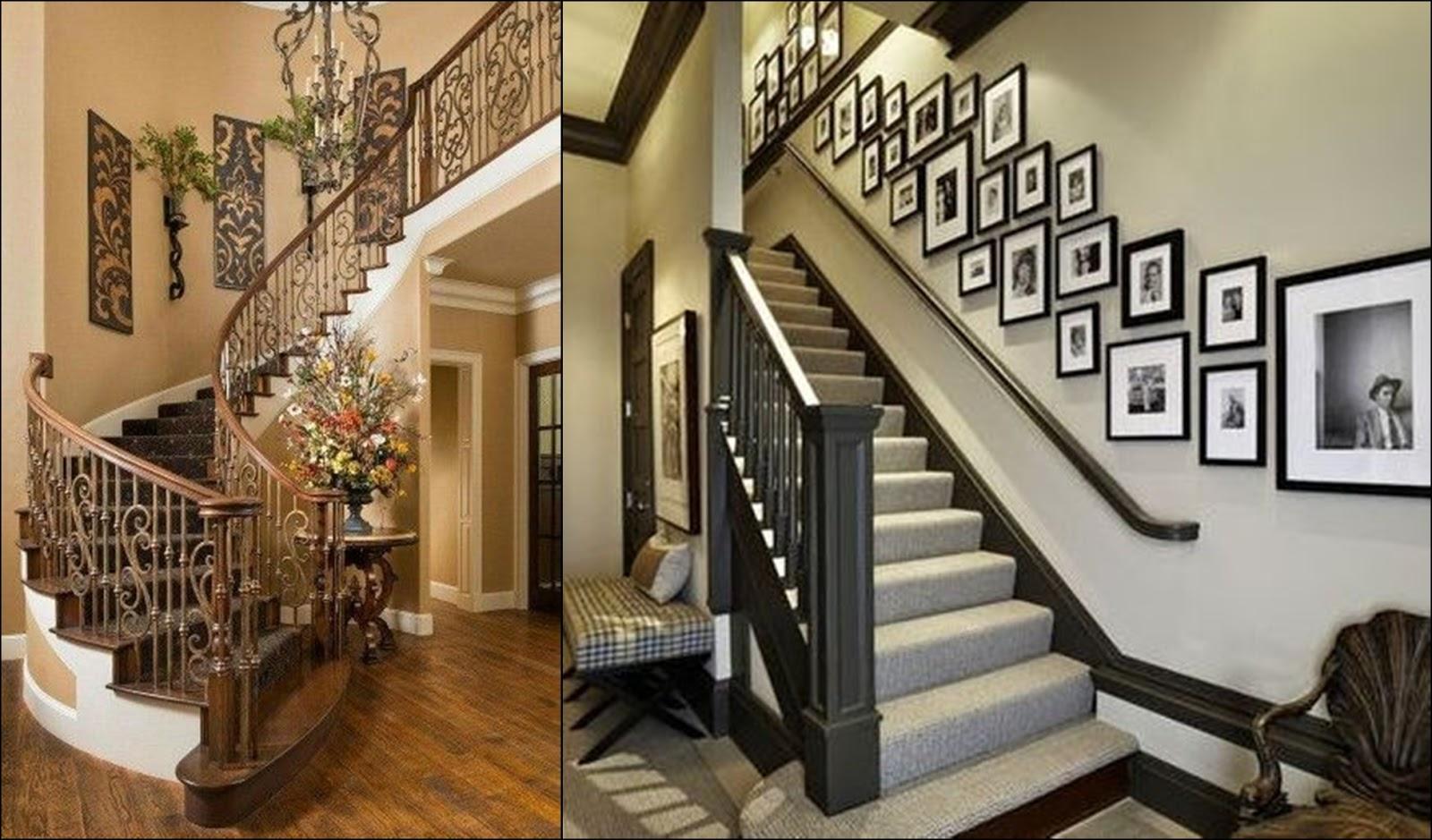 Cara Kreatif Mendekorasi Tangga Rumah Hiasan Dinding