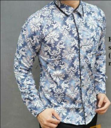 Busanamuslim 15 Contoh Model Kemeja Batik Pria Lengan Panjang