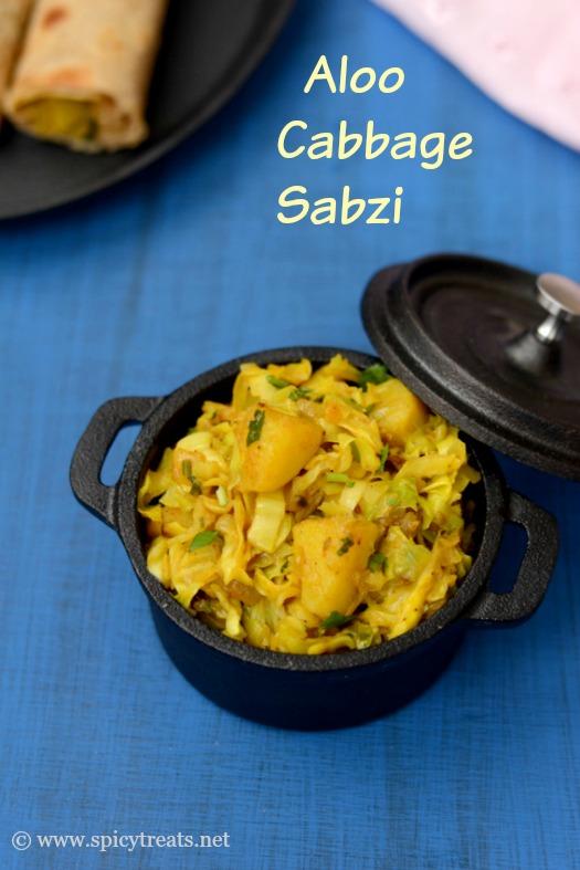 Aloo Cabbage Sabzi