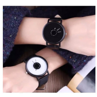 Geneva Couple Gravity Watch (Black and White) || Only ₱349.00!!!