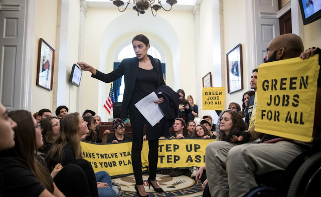 "The sweeping ""Green New Deal"" proposed by New York Democratic Rep. Alexandria Ocasio-Cortez could cost as much as $93 trillion, or approximately $600,000 per household, according to a new study produced by a think tank run by the former director of the nonpartisan Congressional Budget Office."