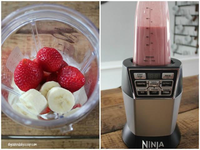 diy healthy homemade strawberry and banana dog treats