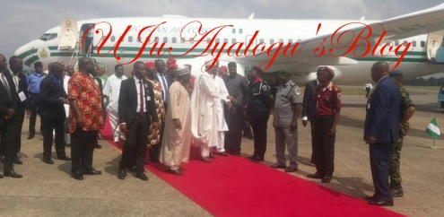 Buhari Dares IPOB arrives S/east for 2-day official visit (PHOTOS)