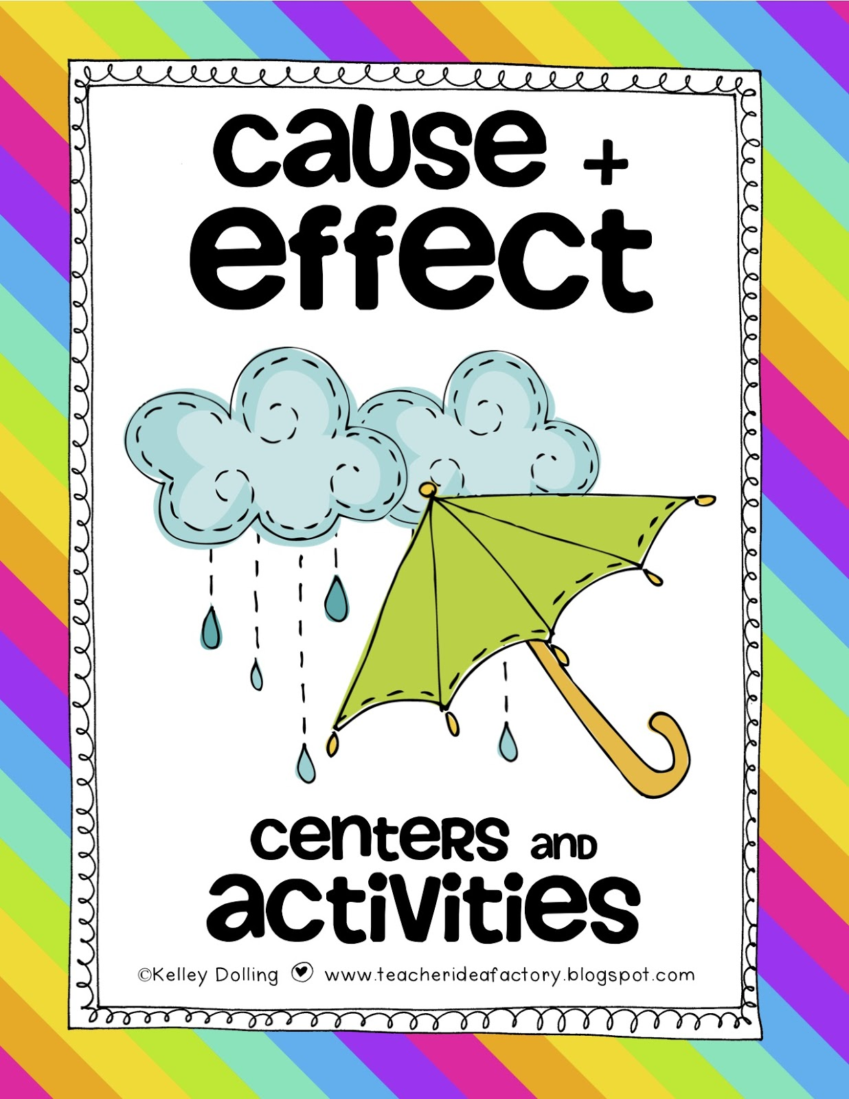 ITS FOR A GOOD CAUSE AND EFFECT Teacher Idea Factory – Cause and Effect Kindergarten Worksheets
