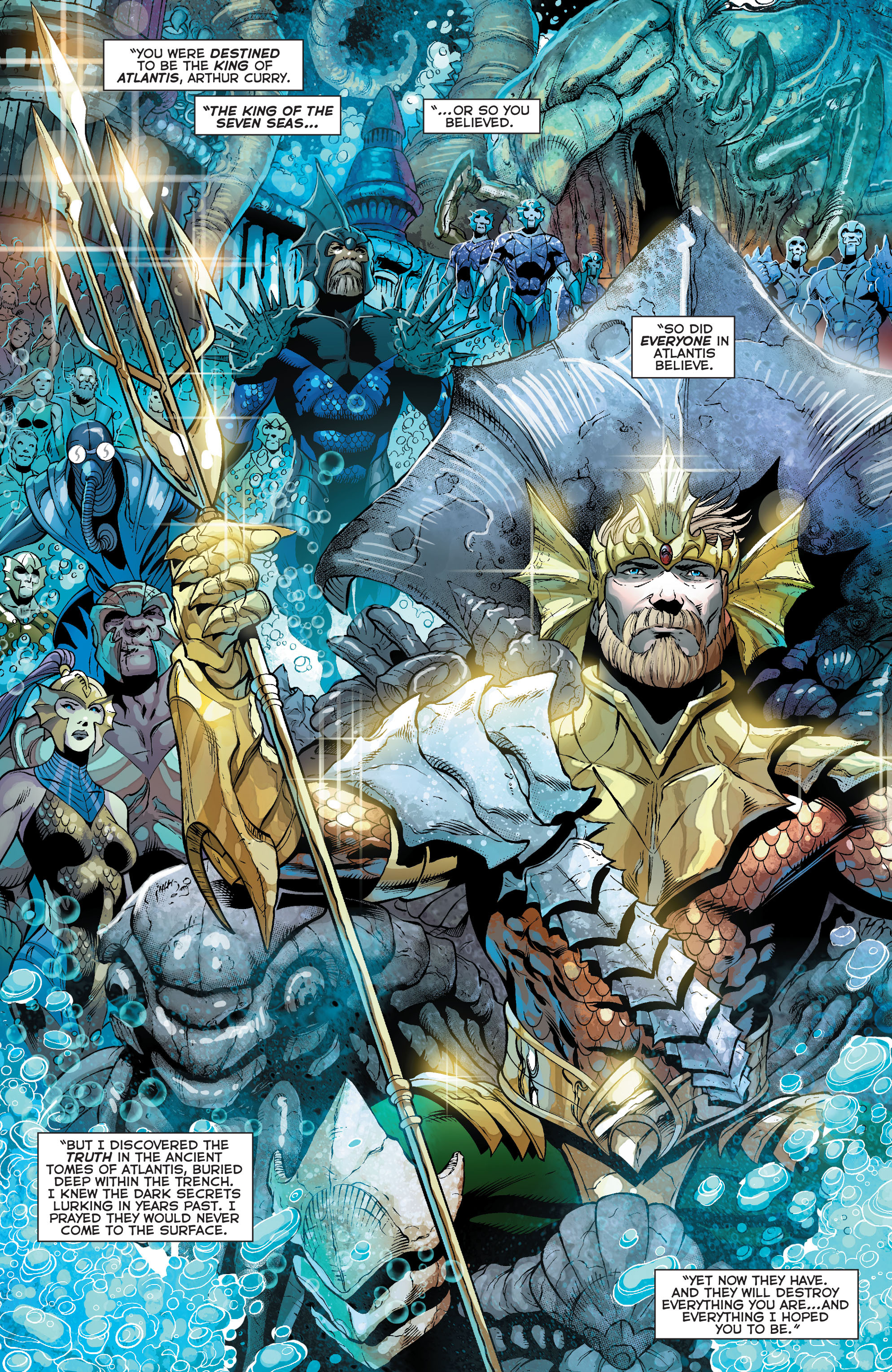 Read online Aquaman (2011) comic -  Issue #24 - 3