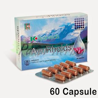K-Ayurveda AyuRhoids (60 Caps)