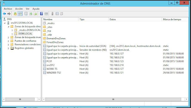 Limpiar el DC en nuestro DNS Server.
