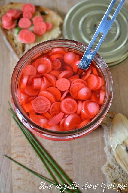 Pickles de légumes au vinaigre