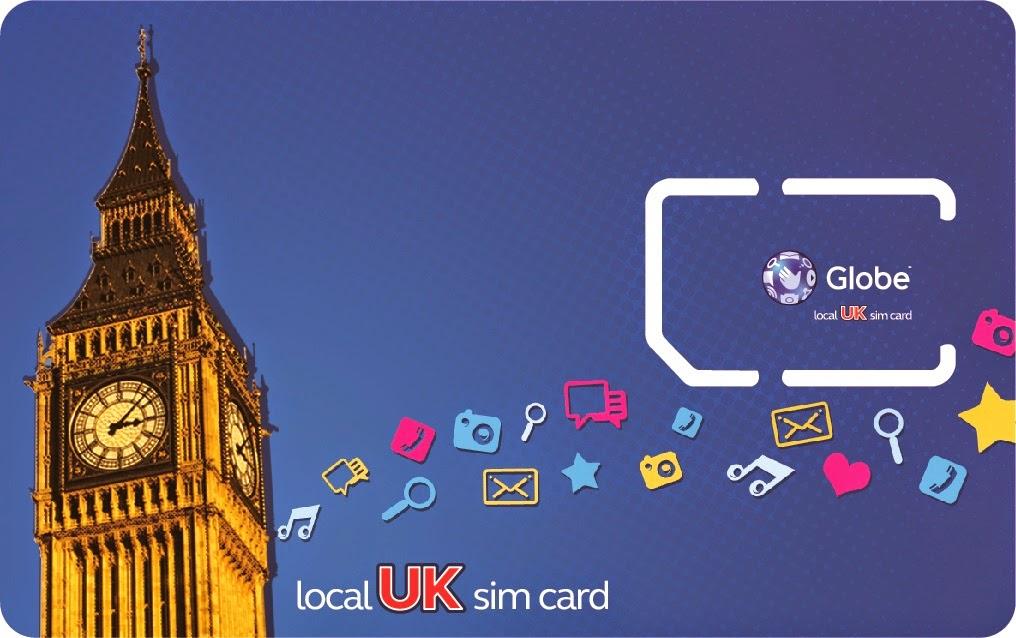 Globe UK Simcard