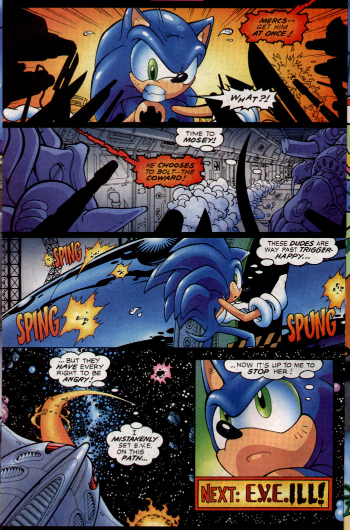 Read online Sonic The Hedgehog comic -  Issue #128 - 7