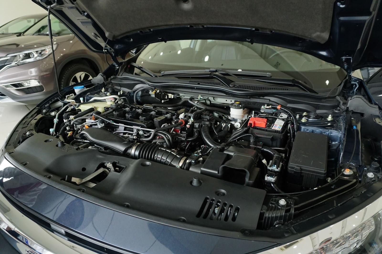 Động cơ 1.5 lít nhưng ngang với CR-V sức mạnh từ động cơ 2.4 lít