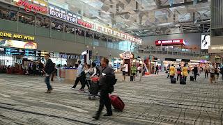 Terminal 2 Changi Airport Singapore