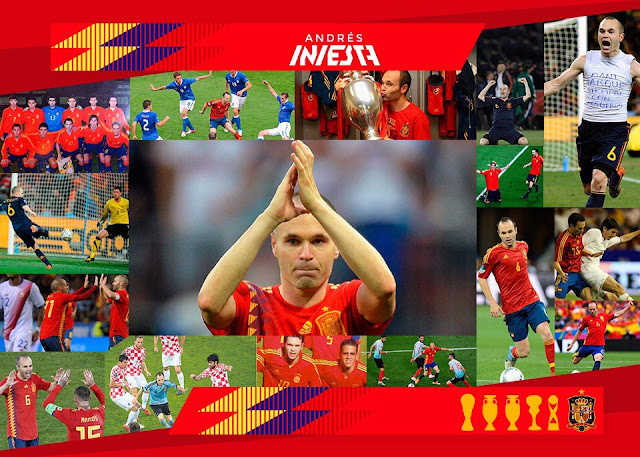 Iniesta quits spain after world cup elimination