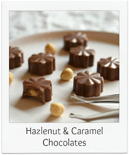 These handmade hazelnut & caramel chocolates were just the ticket for celebrations, birthdays or just to say thank you!