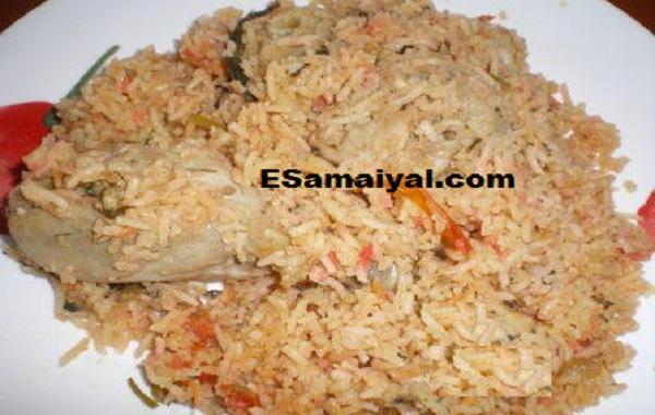 சாமை கோழி பிரியாணி செய்முறை | Saamai Chicken Biryani Recipe !