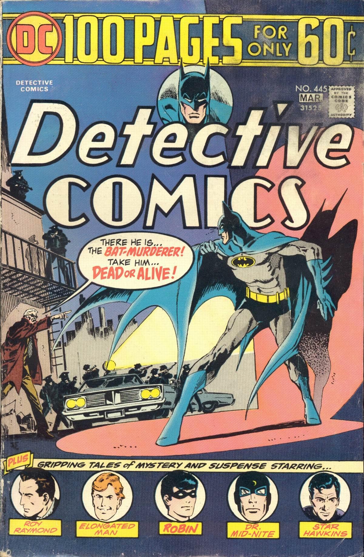 Detective Comics (1937) 445 Page 1