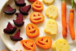 Halloween Roasted Veggies