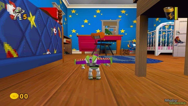Toy Story 2 Buzz Lightyear to the Rescue Gameplay