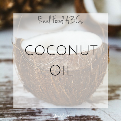 real food abcs - coconut oil