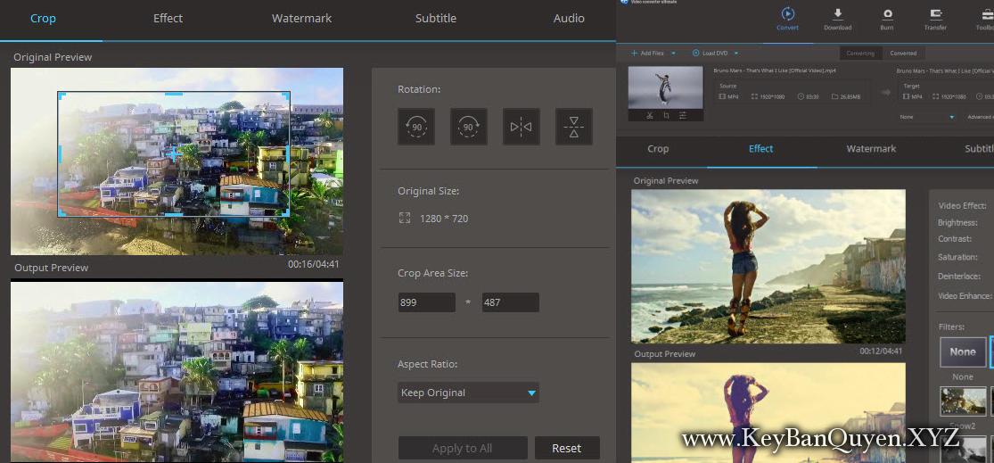 Aimersoft Video Converter Ultimate 10.4.0.187 Full Key, Huyền thoại trong việc xử lý Video và DVD