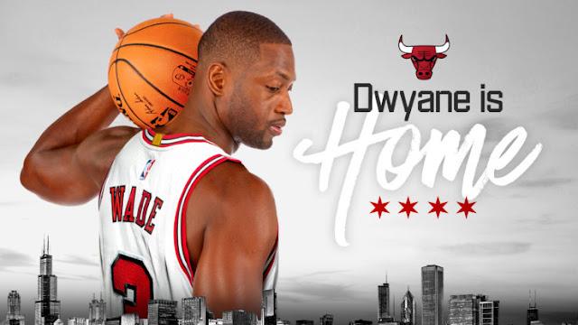 Wade est de retour chez lui à Chicago