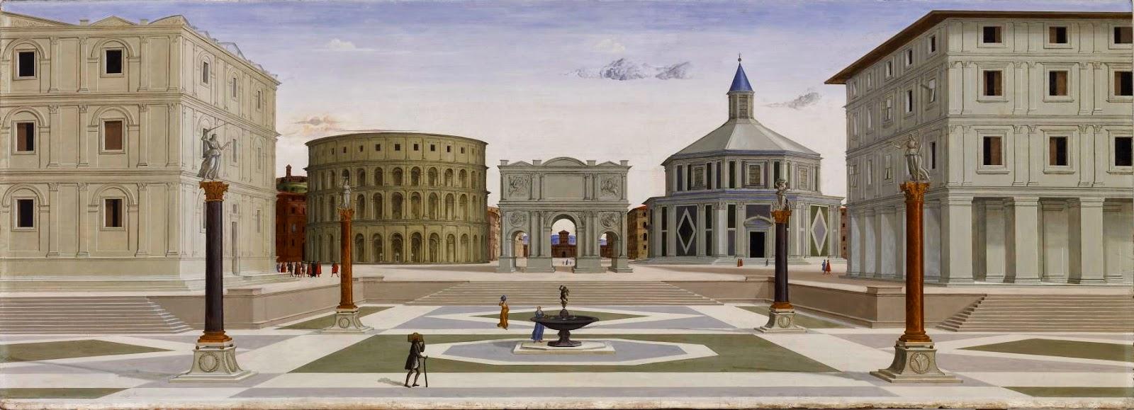 Algargos arte e historia la ciudad ideal renacentista for Aldo rossi architettura della citta